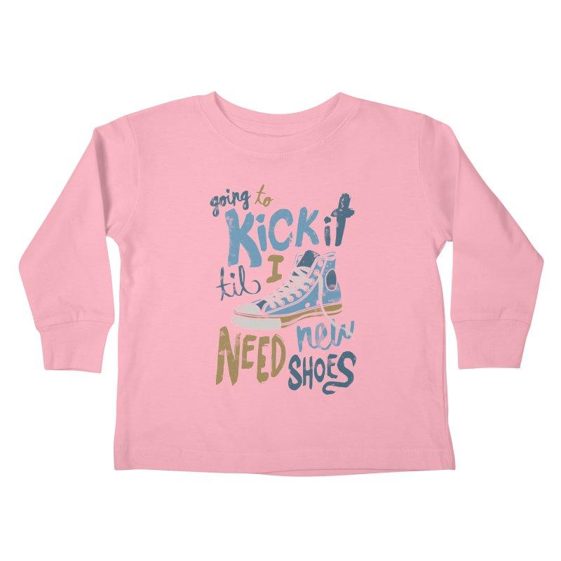 Kick It Kids Toddler Longsleeve T-Shirt by J D STONE