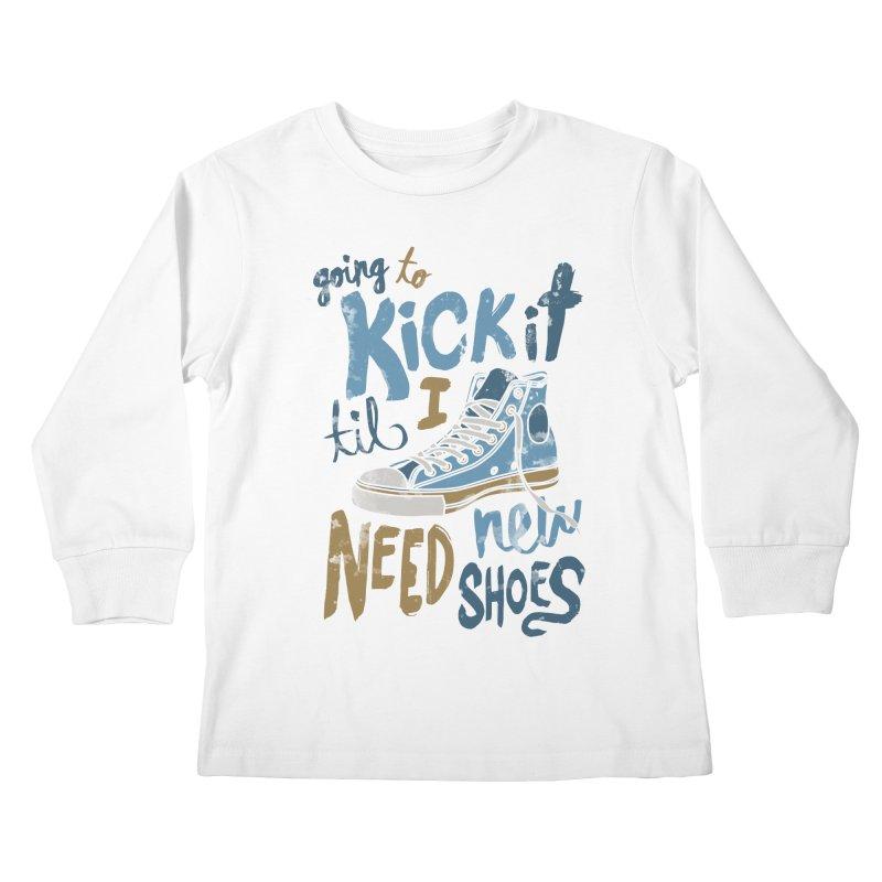 Kick It Kids Longsleeve T-Shirt by J D STONE