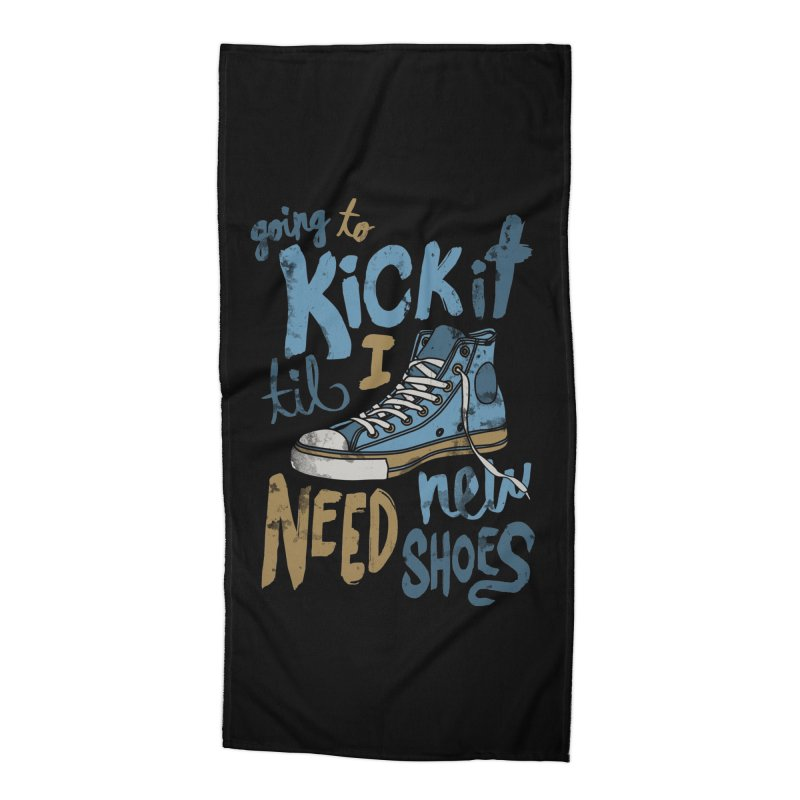 Kick It Accessories Beach Towel by J D STONE