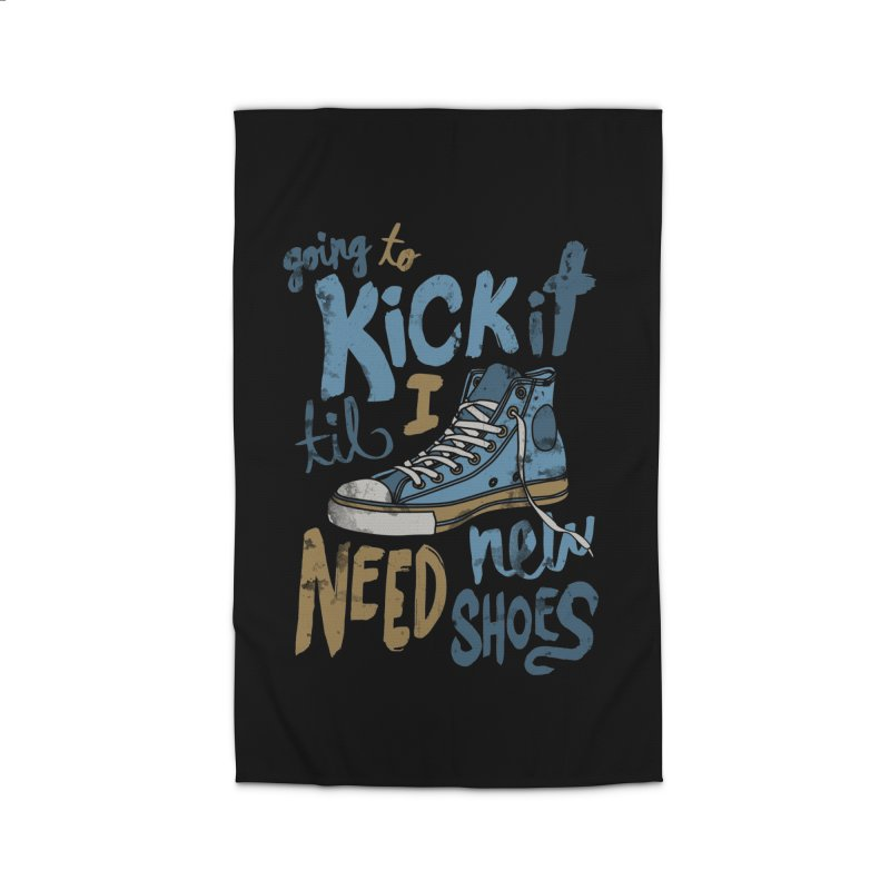 Kick It Home Rug by J D STONE