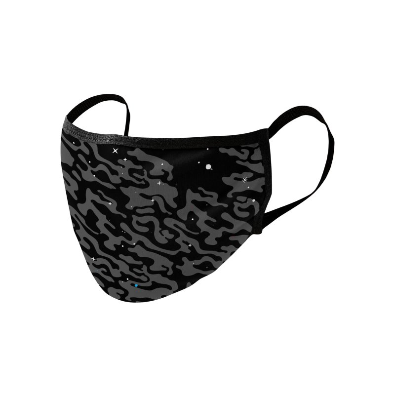 She's Dreaming Face Mask + Neck Gaiter Accessories Face Mask by Jean Goode's Artist Shop