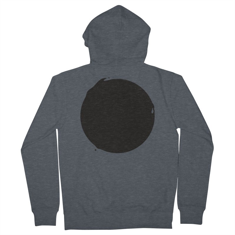 Sun Dark Men's Zip-Up Hoody by Jean Goode's Artist Shop