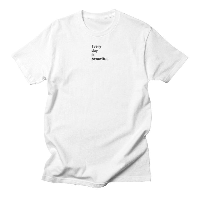 EDIB Type Black Men's T-Shirt by Jean Goode's Artist Shop