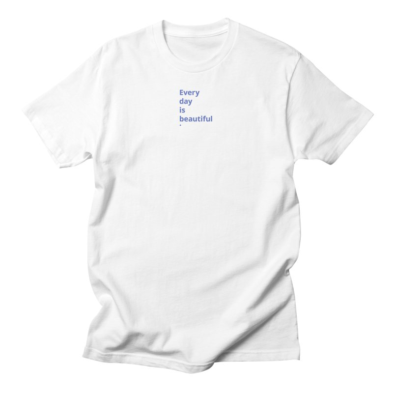 EDIB Type JeGoIndigo Men's T-Shirt by Jean Goode's Artist Shop