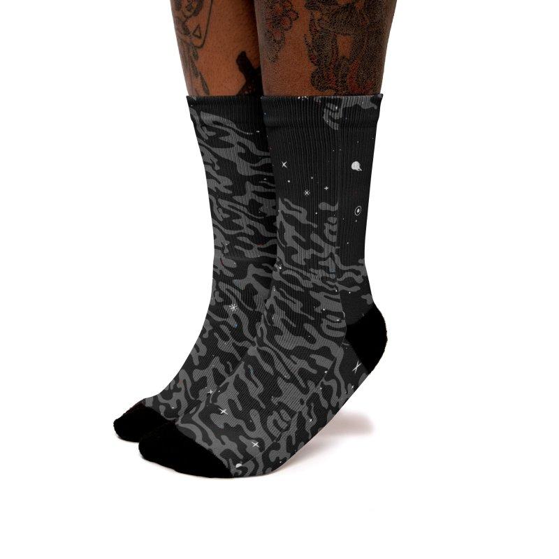 She's Dreaming Socks Women's Socks by Jean Goode's Artist Shop