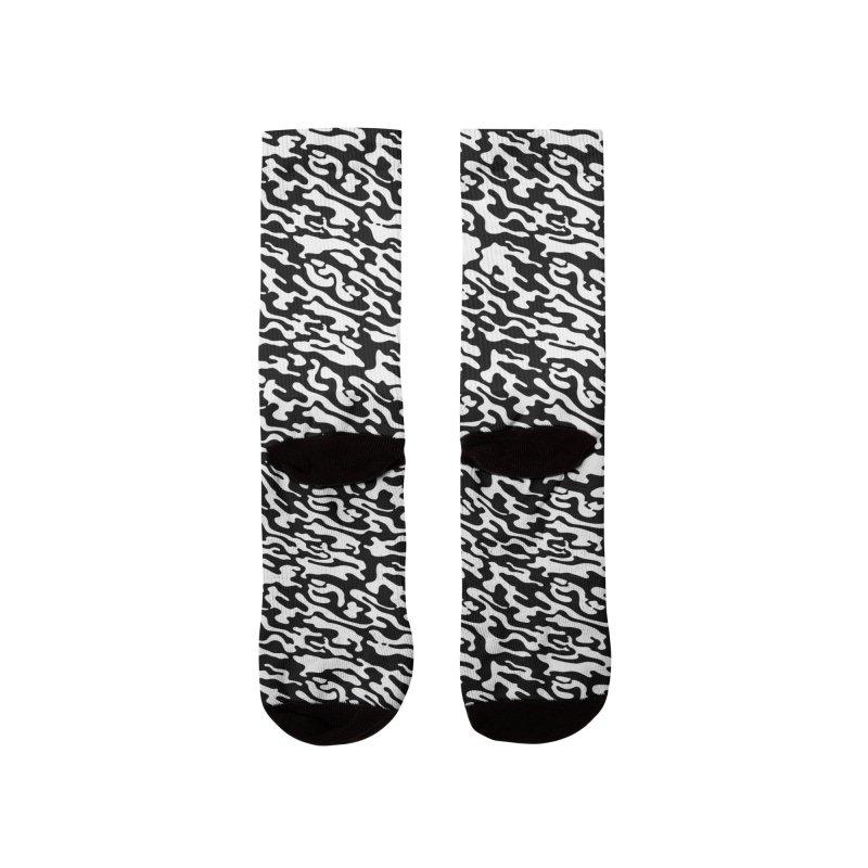 Dream Camo Socks Women's Socks by Jean Goode's Artist Shop