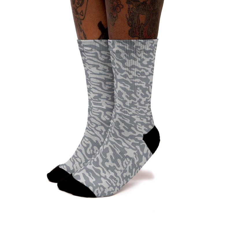 Dream Camo Light Socks Women's Socks by Jean Goode's Artist Shop