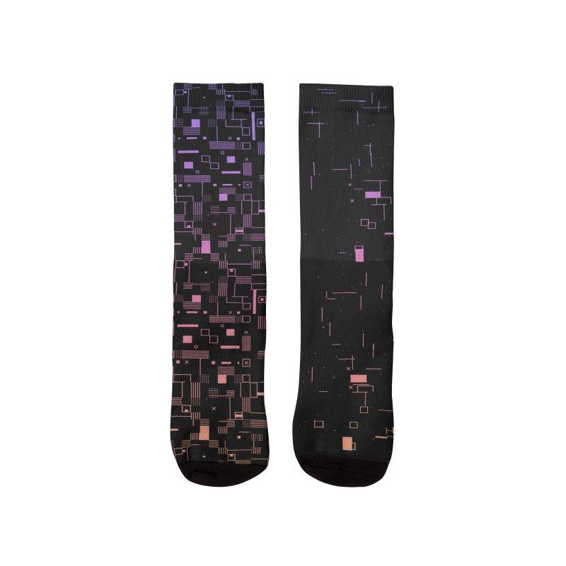 Lights Out Socks Women's Socks by Jean Goode's Artist Shop