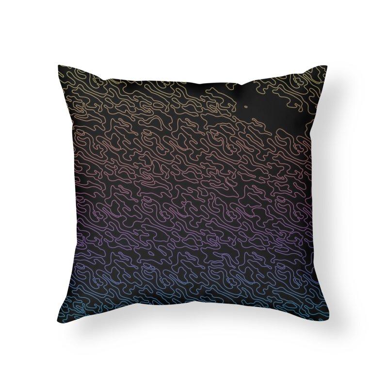 Lucid Dream Camo Throw Pillow Home Throw Pillow by Jean Goode's Artist Shop