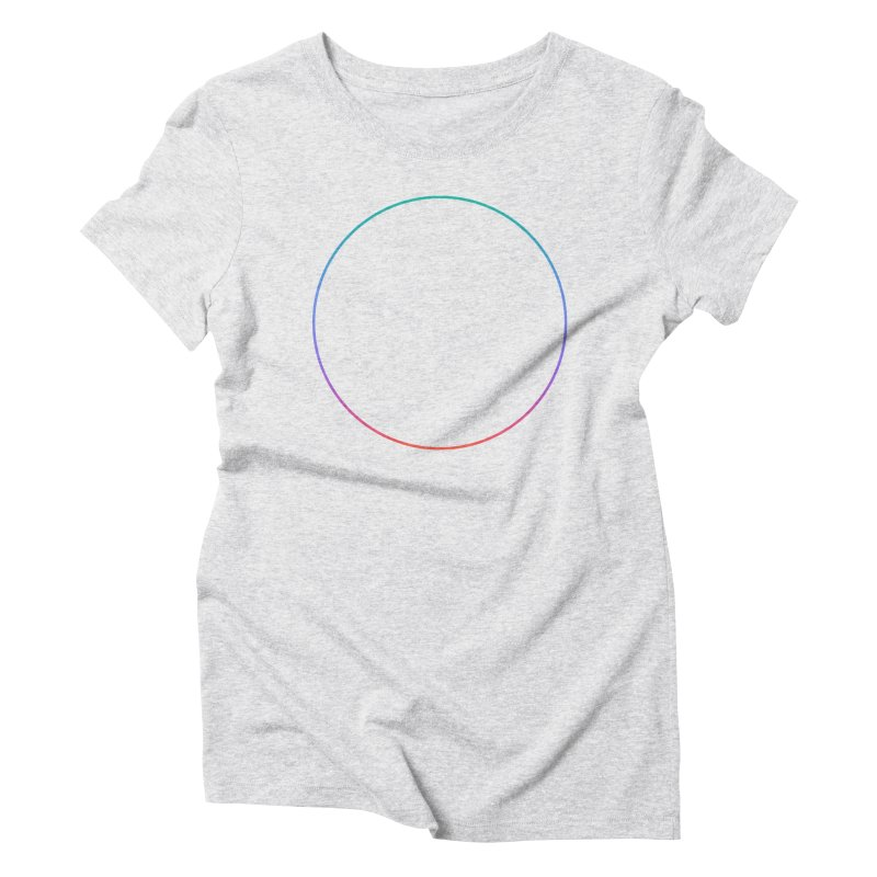 Reconsider_Colors Women's Triblend T-Shirt by Jean Goode's Artist Shop