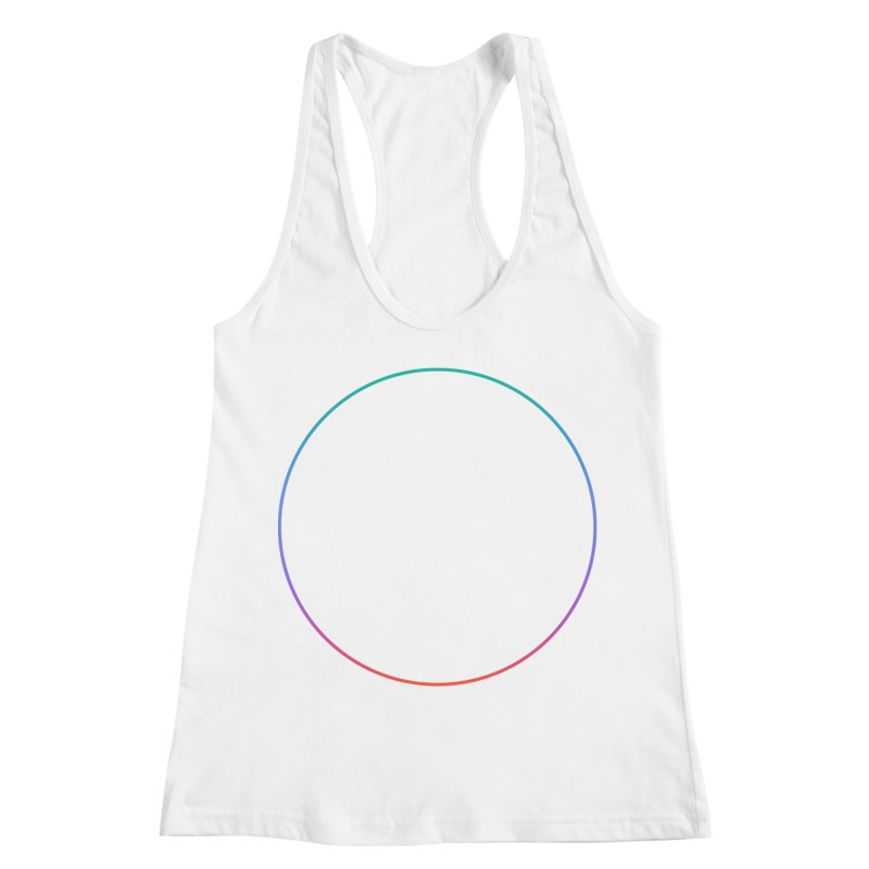 Reconsider_Colors Women's Racerback Tank by Jean Goode's Artist Shop