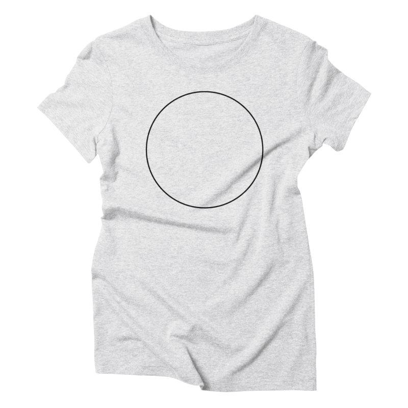 Reconsider_Black Women's T-Shirt by Jean Goode's Artist Shop