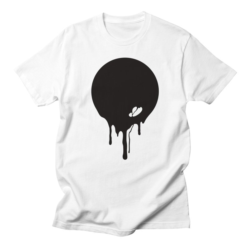 Moon Drip Men's T-Shirt by Jean Goode's Artist Shop