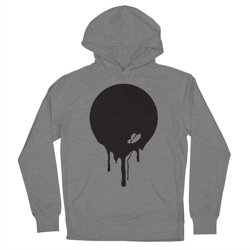 Moon Drip Men's French Terry Pullover Hoody by Jean Goode's Artist Shop