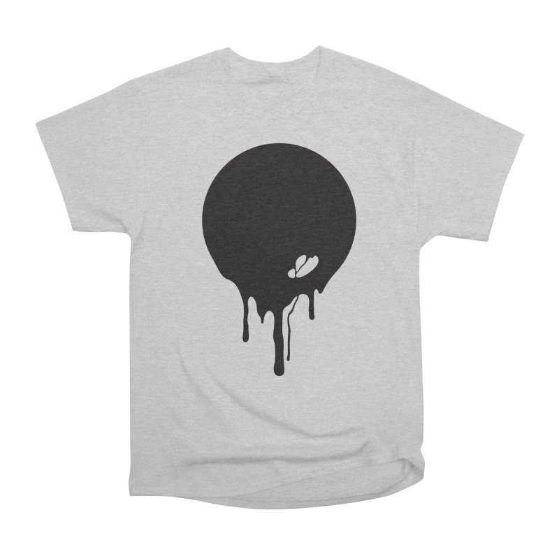 Moon Drip Men's Heavyweight T-Shirt by Jean Goode's Artist Shop