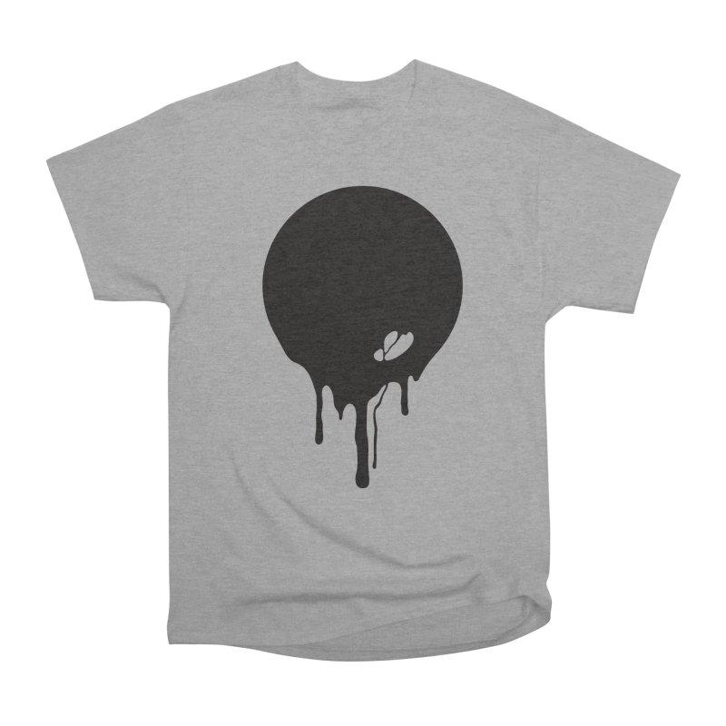 Moon Drip Men's Heavyweight T-Shirt by Jean Goode's Artist Shop
