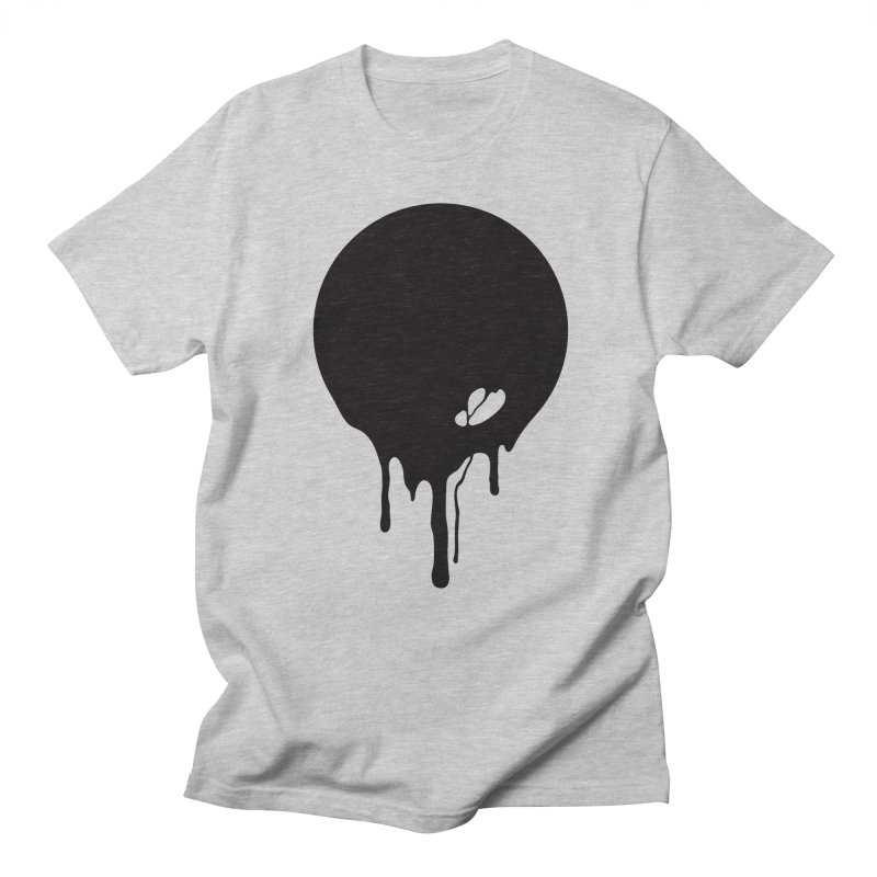 Moon Drip Men's Regular T-Shirt by Jean Goode's Artist Shop