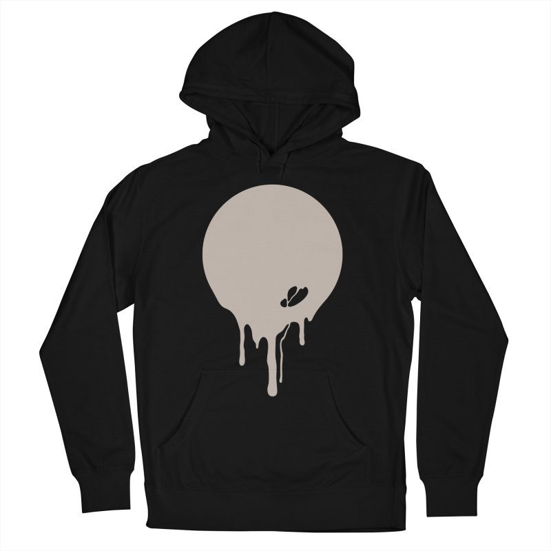 Moon Drip Men's Pullover Hoody by Jean Goode's Artist Shop