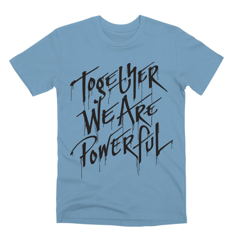 Together Men's Premium T-Shirt by Jean Goode's Artist Shop