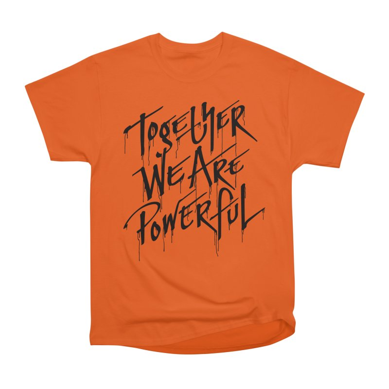 Together Men's Heavyweight T-Shirt by Jean Goode's Artist Shop