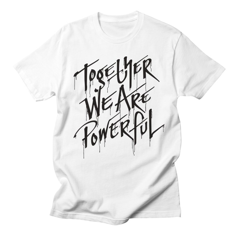 Together Men's Regular T-Shirt by Jean Goode's Artist Shop