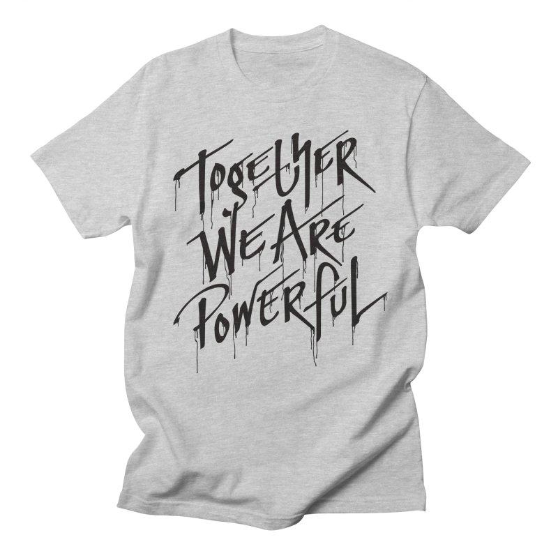 Together Men's Regular T-Shirt by Jean Goode's Artist Shop