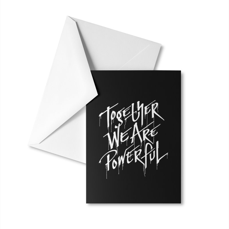 Together Accessories Greeting Card by Jean Goode's Artist Shop