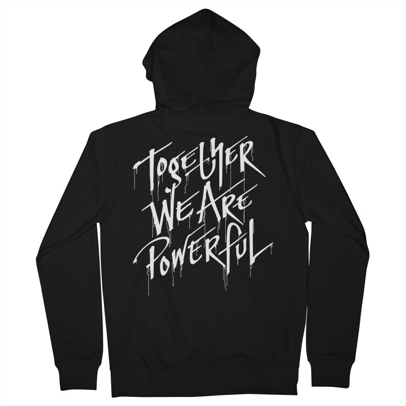 Together Women's Zip-Up Hoody by Jean Goode's Artist Shop