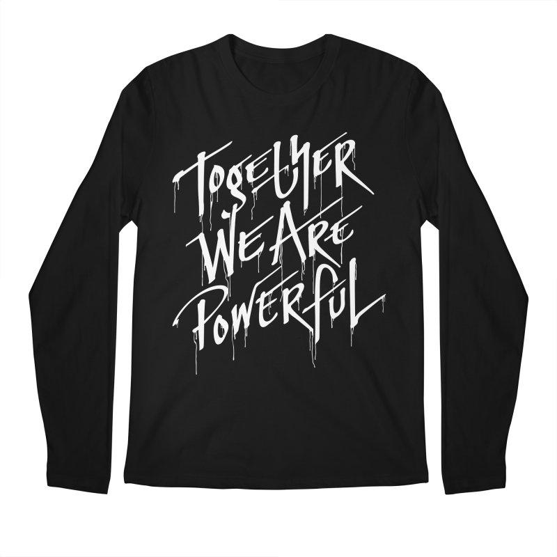 Together Men's Regular Longsleeve T-Shirt by Jean Goode's Artist Shop