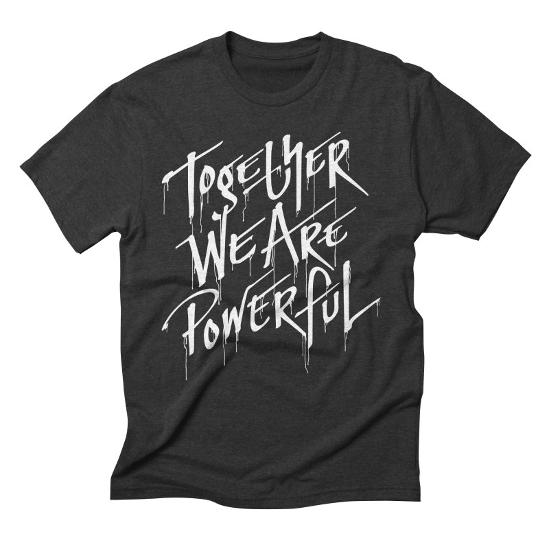 Together Men's Triblend T-Shirt by Jean Goode's Artist Shop