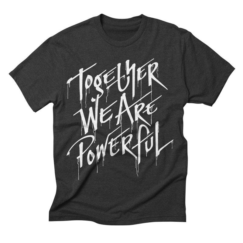 Together Men's Triblend T-shirt by Jean Goode's Artist Shop