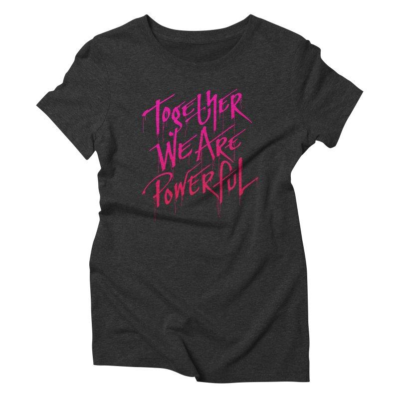 Together Women's Triblend T-shirt by Jean Goode's Artist Shop