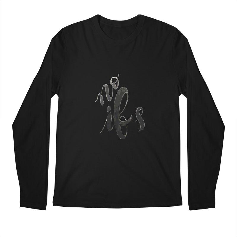 No ifs Men's Longsleeve T-Shirt by jeannecosta's Shop