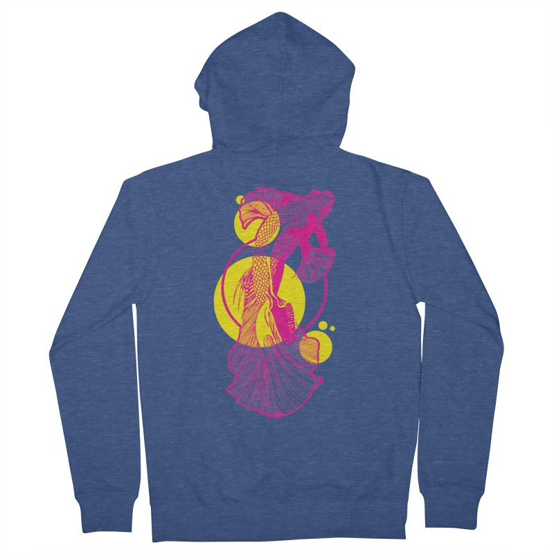 Hyper-Beta Women's French Terry Zip-Up Hoody by Jeannie Hart's Thread Shop