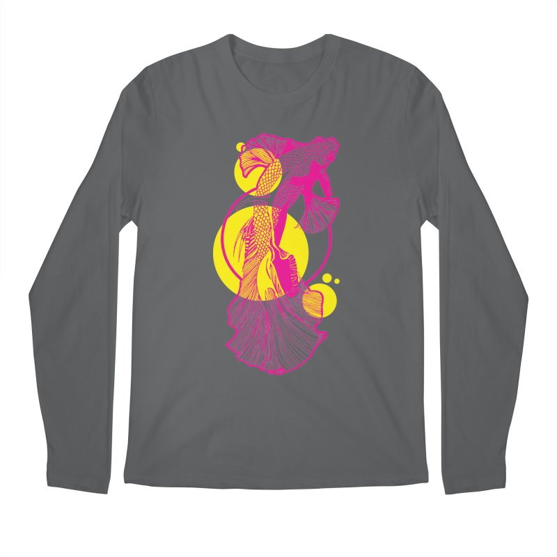 Hyper-Beta Men's Longsleeve T-Shirt by Jeannie Hart's Thread Shop