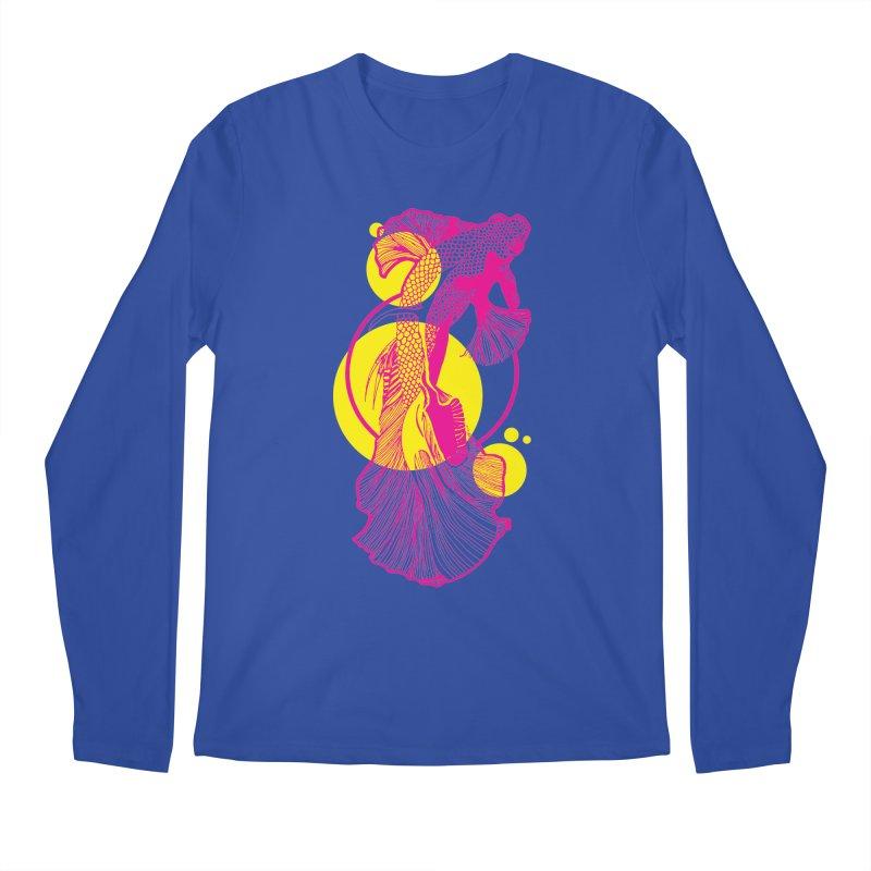 Hyper-Beta Men's Regular Longsleeve T-Shirt by Jeannie Hart's Thread Shop