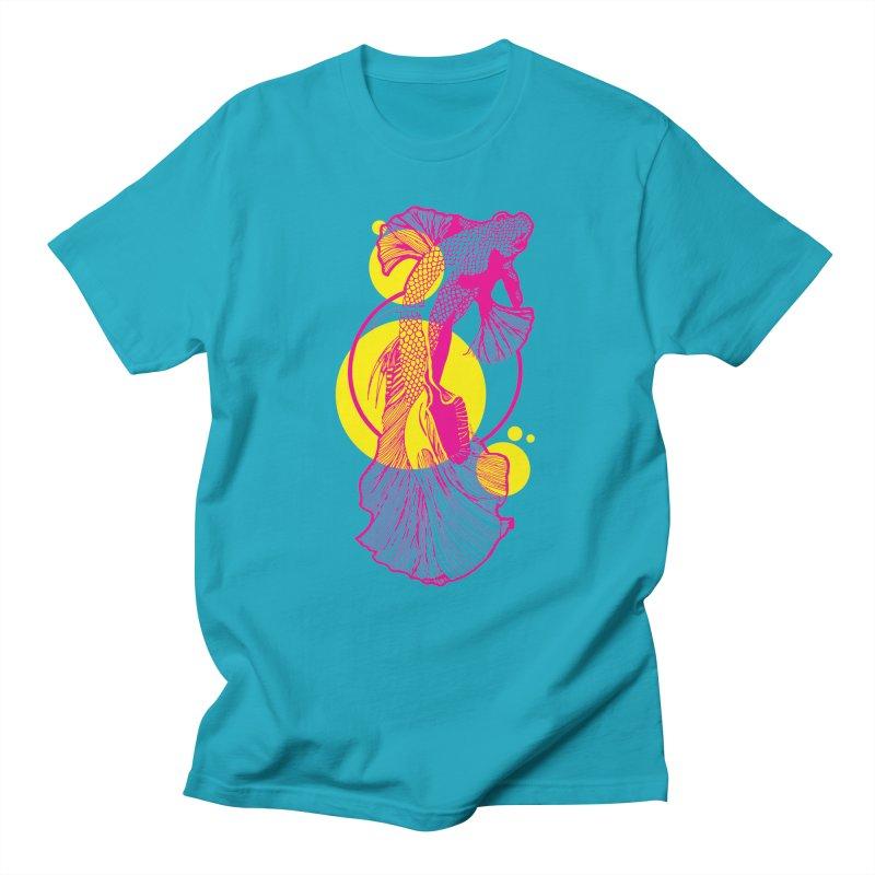 Hyper-Beta Men's Regular T-Shirt by Jeannie Hart's Thread Shop