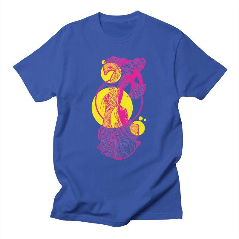 Hyper-Beta Men's T-Shirt by Jeannie Hart's Thread Shop