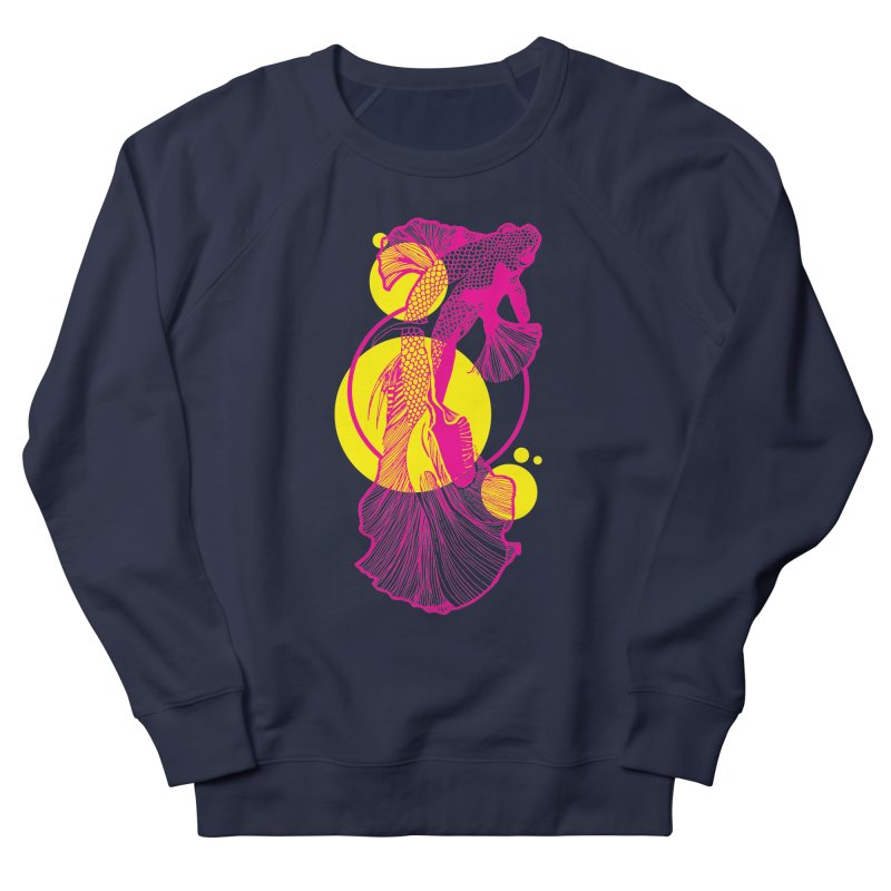 Hyper-Beta Women's French Terry Sweatshirt by Jeannie Hart's Thread Shop