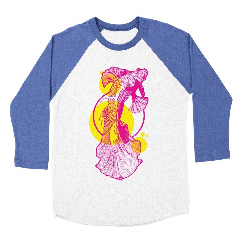 Hyper-Beta Women's Baseball Triblend T-Shirt by Jeannie Hart's Thread Shop