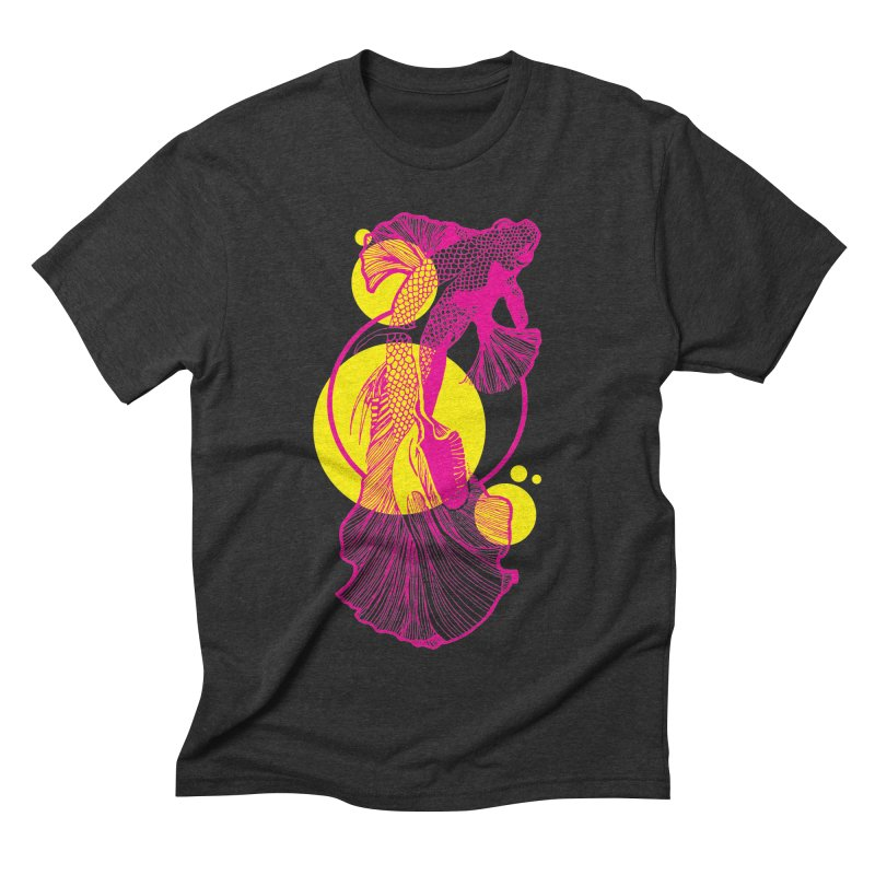 Hyper-Beta Men's Triblend T-shirt by Jeannie Hart's Thread Shop