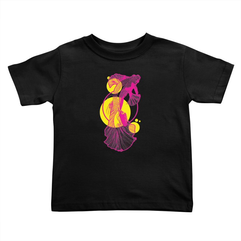 Hyper-Beta Kids Toddler T-Shirt by Jeannie Hart's Thread Shop