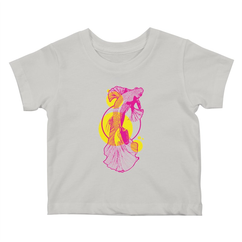 Hyper-Beta Kids Baby T-Shirt by Jeannie Hart's Thread Shop