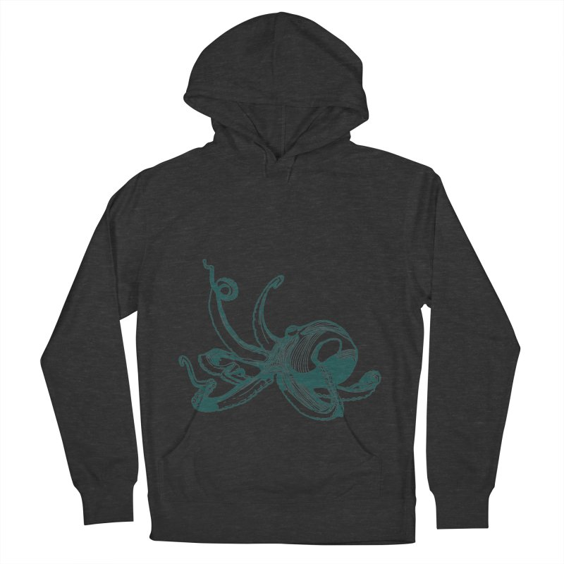 Angry Octi Women's Pullover Hoody by Jeannie Hart's Thread Shop