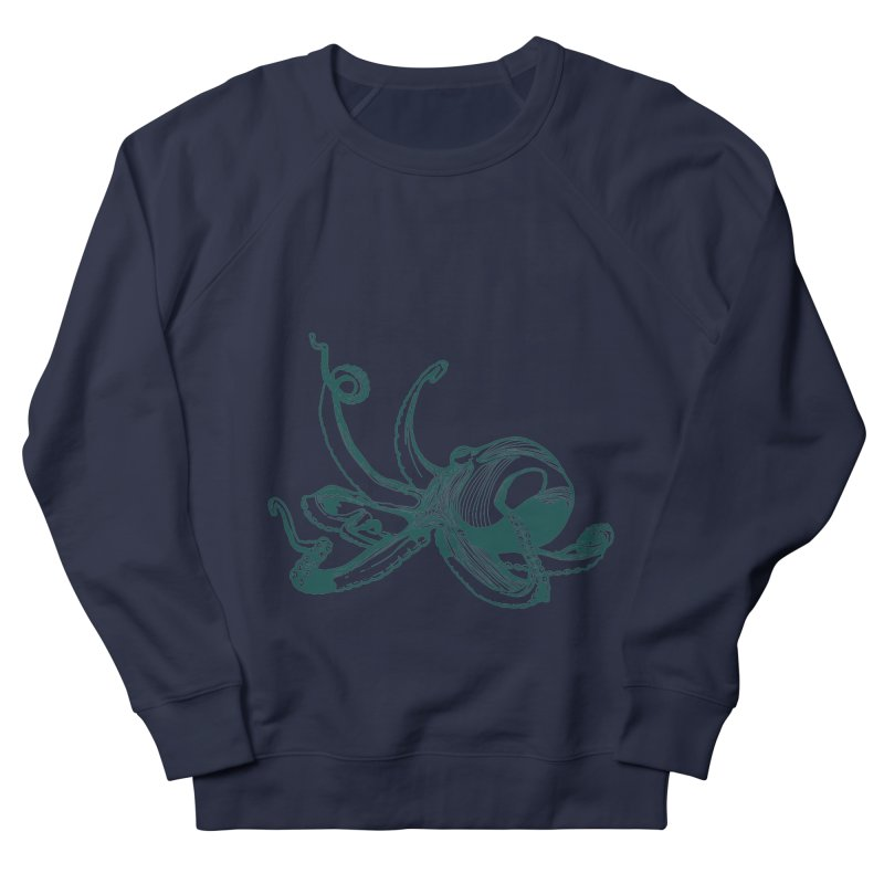 Angry Octi Men's Sweatshirt by Jeannie Hart's Thread Shop