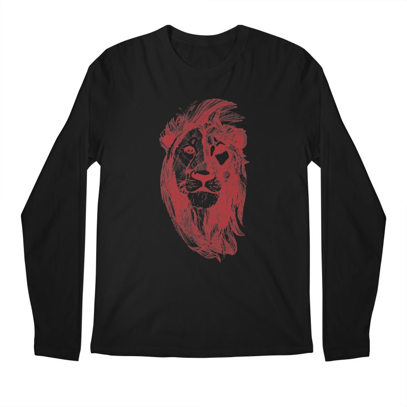 King Men's Regular Longsleeve T-Shirt by Jeannie Hart's Thread Shop