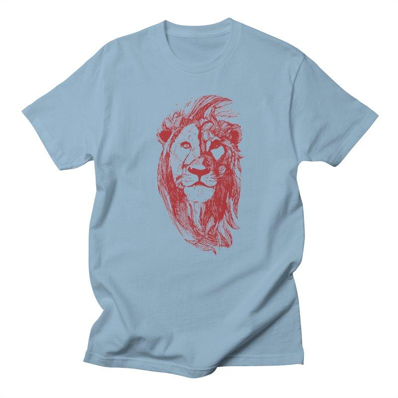 King Men's Regular T-Shirt by Jeannie Hart's Thread Shop