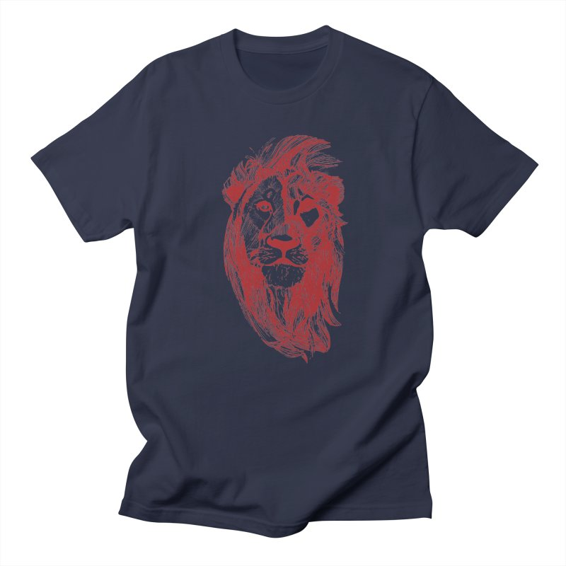 King Men's Regular T-Shirt by Jeannie Hart's Thread Shop