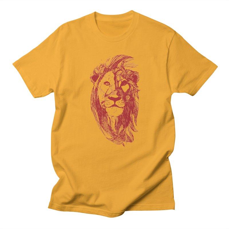 King Men's T-Shirt by Jeannie Hart's Thread Shop