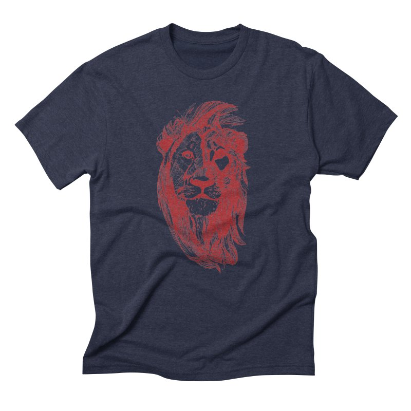 King Men's Triblend T-Shirt by Jeannie Hart's Thread Shop